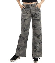 jeans frayed militar buffalo chile