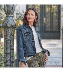 western chic jean jacket