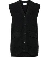 butt d vest vests knitted vests zwart davida cashmere
