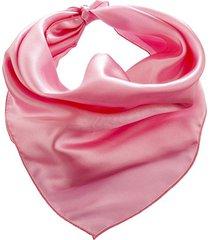 pañuelo rosa bohemia liso