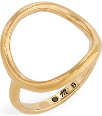 women's madewell ceremony circle ring