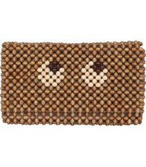 anya hindmarch beads eyes pouch