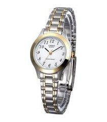reloj kcasltp 1128g 7b casio-plateado