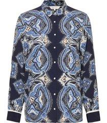 birgith sh overhemd met lange mouwen blauw part two