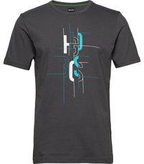 tee 2 t-shirts short-sleeved grå boss