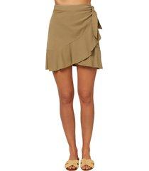 women's o'neill rifraff woven wrap skirt