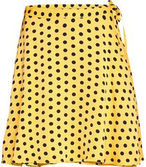 loulou kort kjol gul stella nova