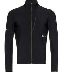 maap winter apex performance jacket - black