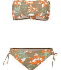 bikini a fascia (set 2 pezzi) (verde) - rainbow