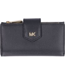 michael michael kors money pieces leather wallet