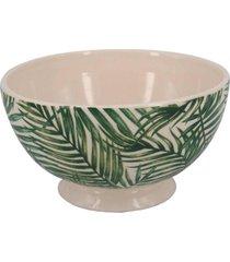 bowl de sobremesa folhas