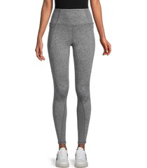 jessica simpson women's stealth melange leggings - heather grey - size s