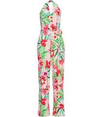 tuta elegante con scollo all'americana (rosa) - bodyflirt boutique