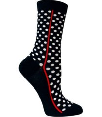 love sock company women's socks - red line