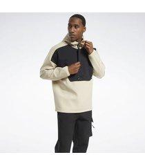 sweater reebok sport edgeworks quarter-zip anorak