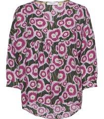 blouse long-sleeve blus långärmad rosa gerry weber edition