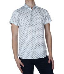shirt, s/s, all over printed