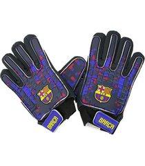 guantes de arquero azul drb barcelona