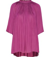 day disil blouses short-sleeved paars day birger et mikkelsen