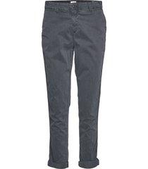 girlfriend twill stripe khakis chinos byxor grå gap
