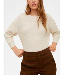 mango back bow sweater