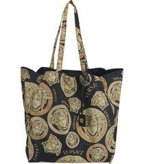 medusa printed shopper bag