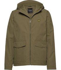 double pocket jacket dun jack groen lyle & scott