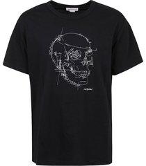 alexander mcqueen t-shirt skull