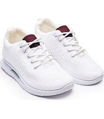 tenis hombre fashion blancos color blanco, talla 42