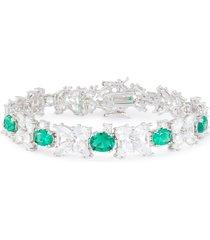 tennis spikes zirconia bracelet