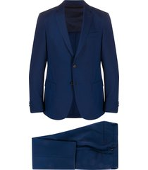 boss hugo boss tailored suit set - blue