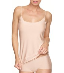 women's commando butter camisole, size x-large - beige
