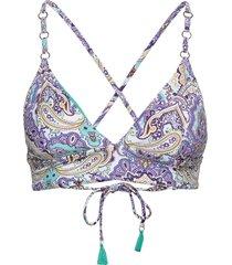 fixed tri bralette bikinitop multi/patroon seafolly