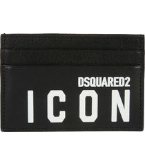 dsquared2 icon credit card holder