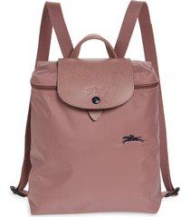 longchamp le pliage club backpack - pink