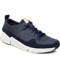 triactive run låga sneakers blå clarks