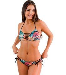 top alto bahamas jessie de la rosa lingerie para mujer - multicolor