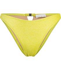 fleur du mal tanga bikini bottom - yellow