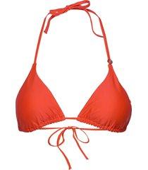 triangle bikini top bikinitop röd casall