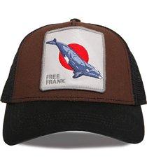 gorra marrón trown headware freefrank