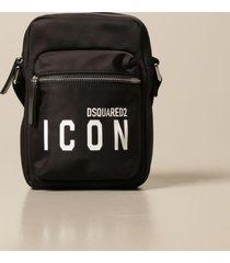 dsquared2 shoulder bag dsquared2 nylon crossbody bag with icon logo