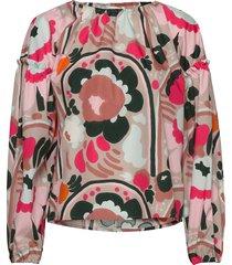 geotooppi karuselli blouse lange mouwen multi/patroon marimekko