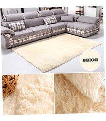 ew salón dormitorio lanas de la alfombra de color beige-beige amarillo
