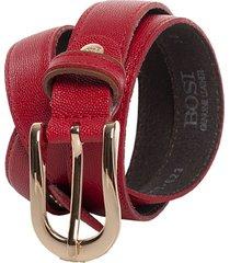 cinturón 623 rojo bosi