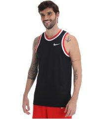 camiseta regata nike dry classic jers - masculina - preto