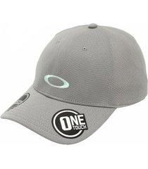 boné oakley tech cap stone grey - masculino
