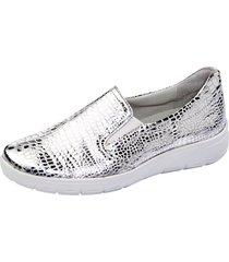skor vamos silverfärgad