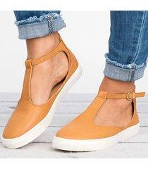 moda verano sandalias zapatos planos cerrados para mujeres