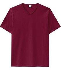camiseta básica gola em v malwee masculina - masculino