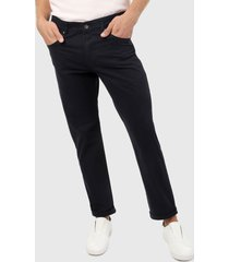 pantalón azul navy brooksfield